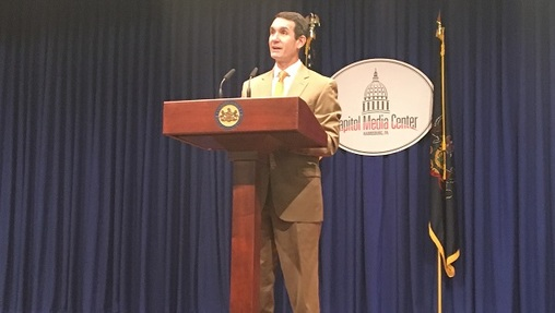 Auditor General Eugene DePasquale says this latest audit is a followup to previous DCED reviews in 2007 and 2014. (Katie Meyer/WITF)