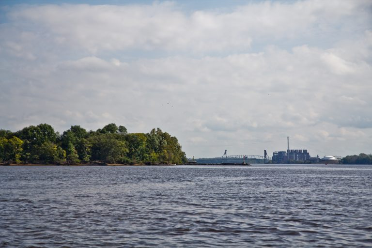 The Delaware River in 2018. (Kimberly Paynter/WHYY)