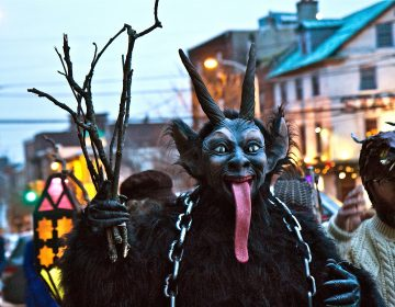 Spirits march through Northern Liberties for the 2018 Parade of Spirits.