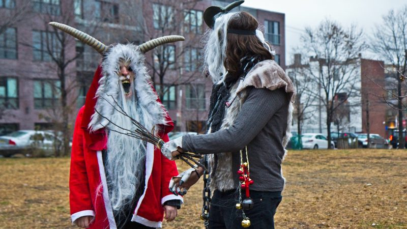 Spirits gather at Liberty Lands Park for an annual celebration. (Kimberly Paynter/WHYY)