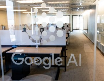 The Google AI lab in Princeton. (Princeton University, Office of Communications, Denise Applewhite)