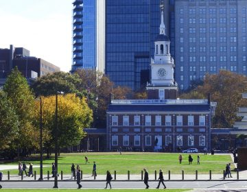 Independence Hall would close if there is a federal government shutdown. (Alan Tu/WHYY)
