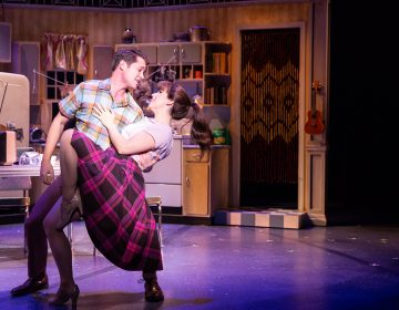 Drew Seeley and Chilina Kennedy star in Delaware Theatre Company's 2018 production of A Sign of The Times. (Matt Urban)