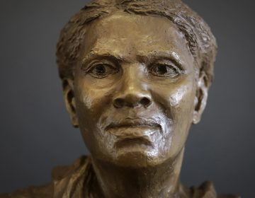 A bust of Harriet Tubman stands in the Harriet Tubman Underground Railroad Visitor Center, a stop on the Harriet Tubman Underground Railroad Byway, in Church Creek, Md. A group in Cape May, New Jersey, is planning a museum there in her honor. (AP Photo/Patrick Semansky)