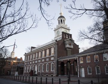 Shown is Independence Hall in Philadelphia, Tuesday, Dec. 19, 2017. (Matt Rourke/AP Photo)