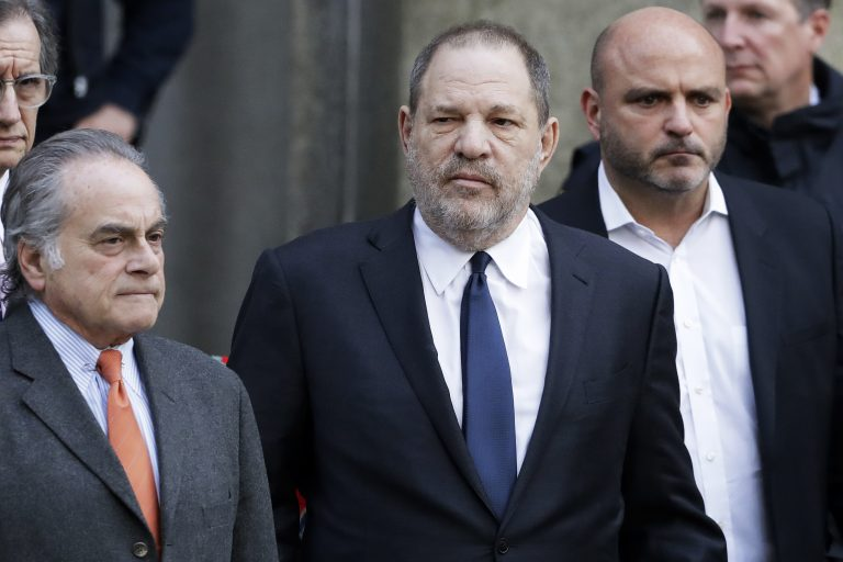 Harvey Weinstein leaves New York Supreme Court, Thursday, Dec. 20, 2018, in New York. Judge James Burke allowed his sexual assault case to move forward. (Mark Lennihan/AP Photo)