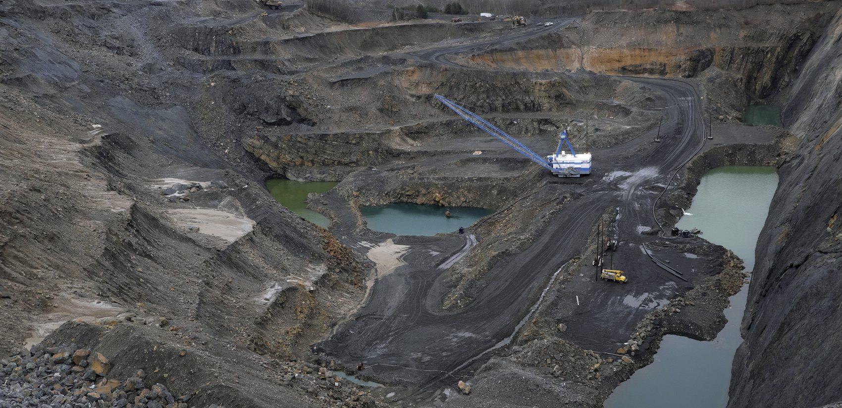 A look at the the Blaschak Coal Corporation pit mine in Mount Carmel, Pennsylvania. (Matt Smith for Keystone Crossroads)