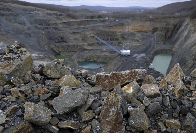 A look at the the Blaschak Coal Corporation pit mine Dec. 4, 2018, in Mount Carmel, Pennsylvania. (Matt Smith for Keystone Crossroads)