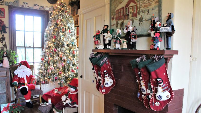 Cherry House stockings (Bill Barlow/for WHYY)