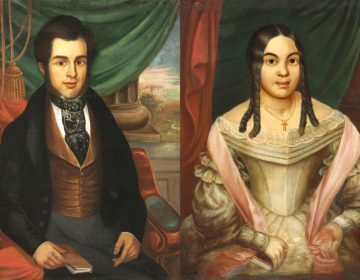 Portraits of Hiram Charles Montier and his wife, Elizabeth Brown Montier, by Franklin R. Street. (Courtesy of the Philadelphia Museum of Art)