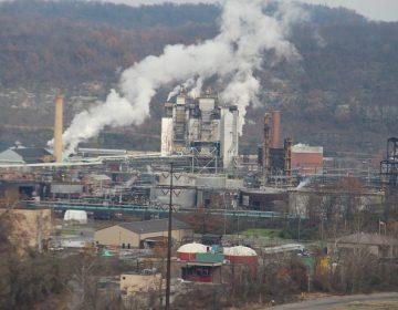 U.S. Steel's Clairton Coke Works. (Reid R. Frazier/StateImpact Pennsylvania)