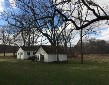 The Cooch family is selling their historic home and ten acres of land surrounding to preserve the site of Delaware's only Revolutionary War battle in 1777. (Mark Eichmann/WHYY)