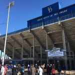 The University of Delaware's football stadium will get overhauled and a new athletic training complex will be constructed as part of a $60 million effort. (Mark Eichmann/WHYY)