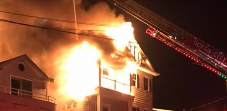 Photo courtesy of the Ocean City Firefighters Association.