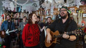 The Oh Hellos at Tiny Desk Concert 2016.