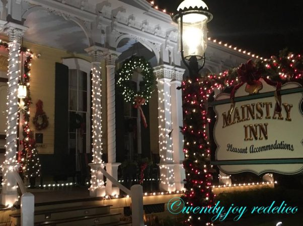 The Mainstay Inn was built in 1872 as a private gambling club. (Photo courtesy of Wendy Redelico)