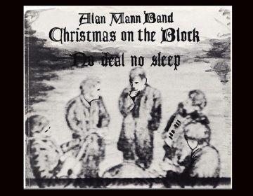 45 RPM sleeve for 'Christmas On The Block' - Alan Mann Band (1984). (Image via Flickr Creative Commons, uploaded by Brian of Retroland U.S.A.)