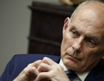 John Kelly took over as chief of staff six months into the Trump presidency, and he initially helped bring military discipline to a sometimes chaotic White House. (Evan Vucci/AP)