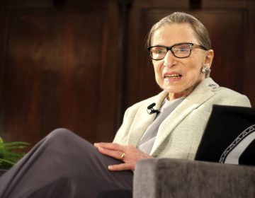 Supreme Court Justice Ruth Bader Ginsburg appears at an event in New York earlier this month, days before undergoing surgery for early stage lung cancer. The 85-year-old justice was discharged from the hospital on Christmas Day