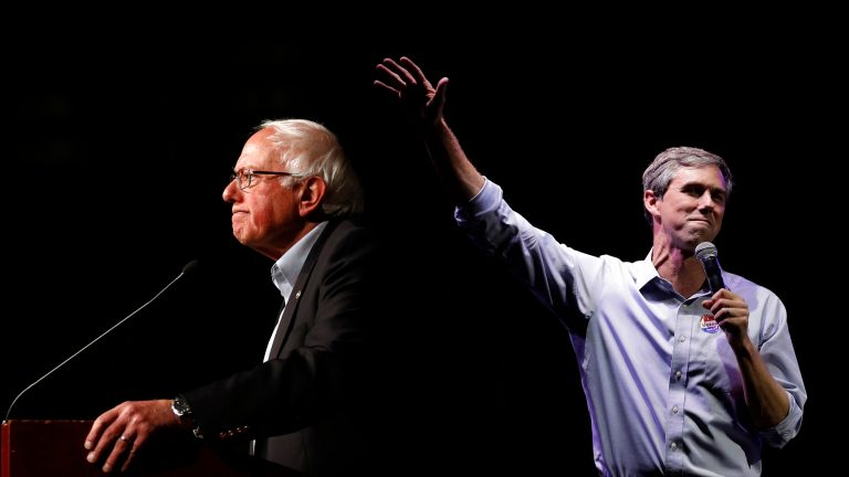 Image result for photos of beto o'rourke sen sanders