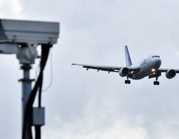 A jet lands at London Gatwick Airport on Friday. The airport had been closed for over a day after a drone repeatedly flew nearby. (Ben Stansall/AFP/Getty Images)