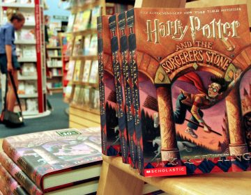 J. K. Rowling's Harry Potter series story books sit in a bookstore July 6, 2000 in Arlington, Va.