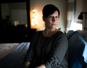 Angela Lautner who lives in Elsmere, Ky. has Type 1 diabetes and is an advocate for affordable insulin. (Maddie McGarvey for NPR)