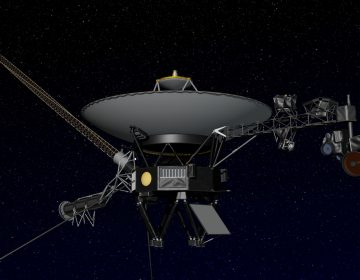 Artist's concept of NASA's Voyager spacecraft. Image: NASA/JPL-Caltech