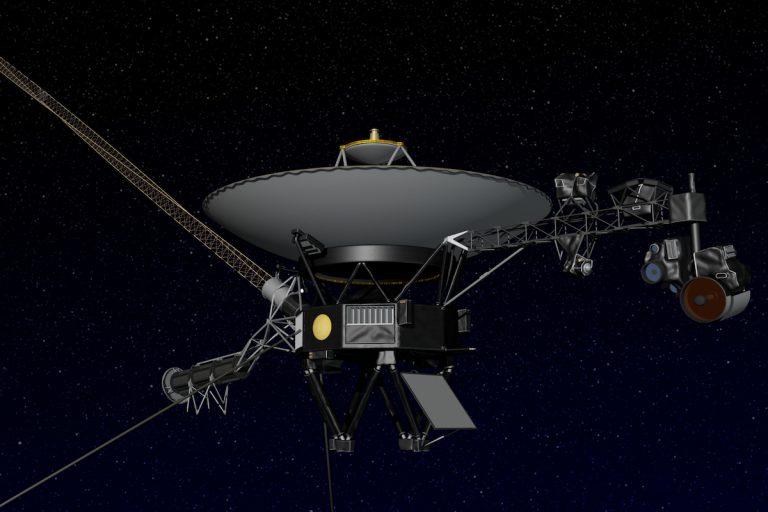Artist's concept of NASA's Voyager spacecraft. Image: NASA/JPL-Caltech