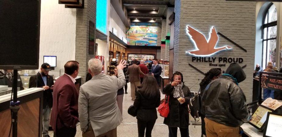 The new Wawa at 6th and Chestnut streets (Tom MacDonald/WHYY)