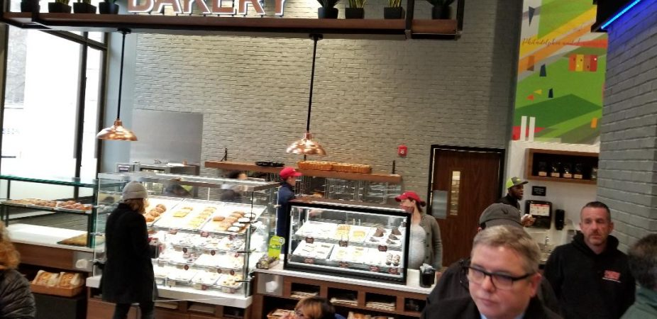 New Wawa in Center City will feature homestyle baked goods. (Tom MacDonald/WHYY)