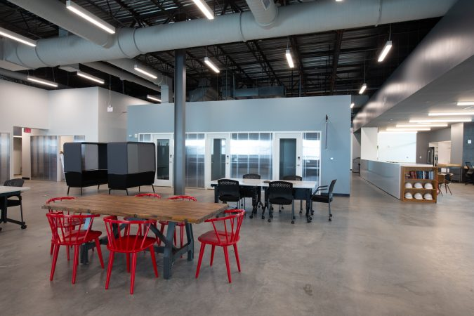 1776, a new co-working space has opened up in the Cherry Hill Mall (Courtesy PREIT)