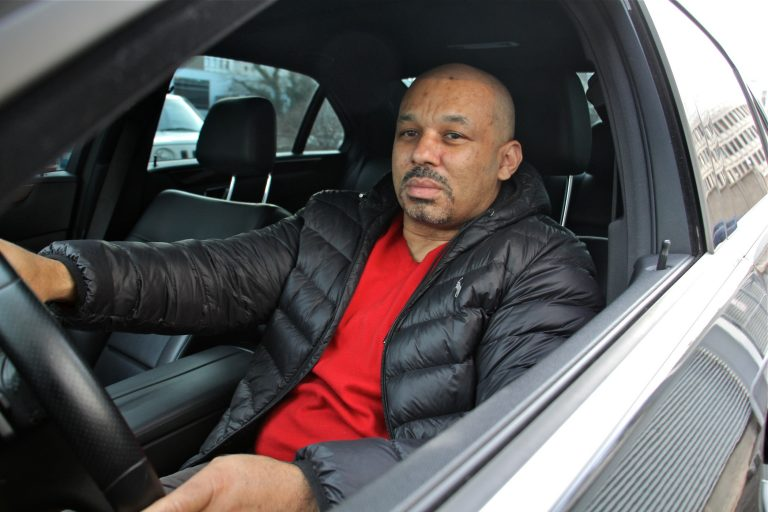 Giovanni Hatter has filed two complaints against Philadelphia police for what he says were unnecessary stops. (Emma Lee/WHYY)