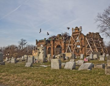 Mt. Moriah Cemetery in Southwest Philadelphia in January 2019. (Kimberly Paynter/WHYY)