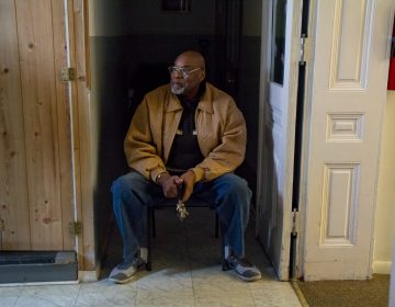 St. JamesChapel Church Pastor Steven McCracken is worried about the already struggling members of his community in Reading, Pennsylvania. (Kimberly Paynter/WHYY)