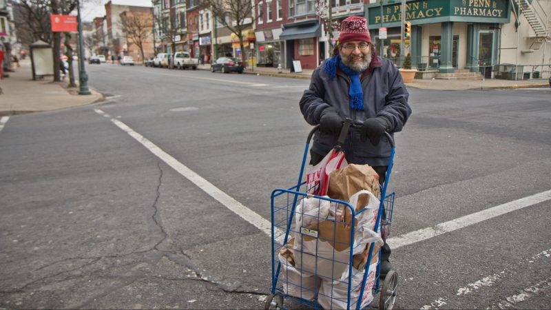 Reading, Pa., resident Paul Brown says he's nervous about losing his SNAP benefits. (Kimberly Paynter/WHYY)