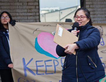 Nancy Nguyen is executive director of VietLead. (Kimberly Paynter/WHYY)