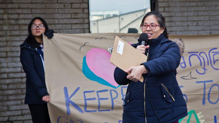 Nancy Nguyen is executive director of VietLead. (Kimberly Paynter/WHYY)