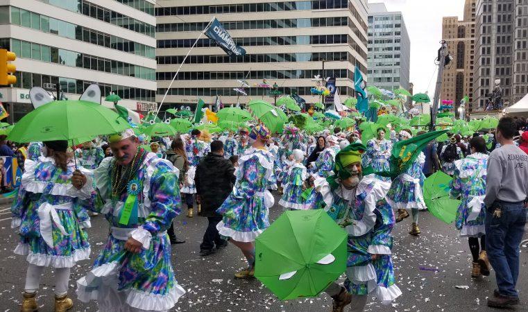 2019 Mummers parade (Tom MacDonald/WHYY)