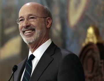 In this file photo Gov. Tom Wolf gives his budget address at the state Capitol in Harrisburg, Pa., on Tuesday, Feb. 6, 2018. (Chris Knight/AP Photo)