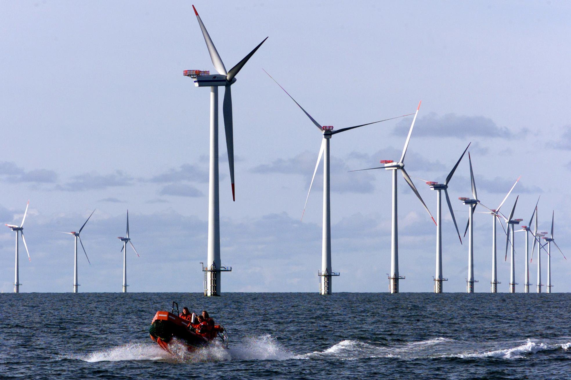 Wind farm surveying begins off N J  coast - WHYY