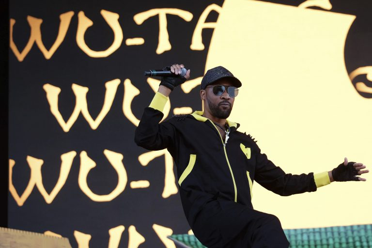 RZA from the hip hop group the Wu-Tang Clan performs on day two of the Governors Ball Music Festival on Saturday, June 3, 2017, in New York. (Photo by Charles Sykes/Invision/AP)