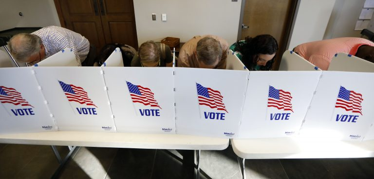 A bipartisan group is introducing a raft of proposals that aim to make voting simpler. Pennsylvania's election laws haven't seen significant changes in many decades. (Rogelio V. Solis/AP Photo)