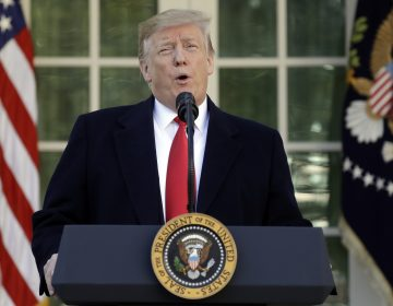 President Donald Trump speaks in the Rose Garden of the White House, Friday, Jan 25, 2019, in Washington. (Evan Vucci/AP Photo)