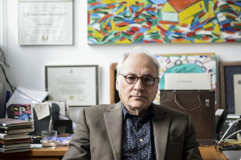 Poet Charles Bernstein, who teaches at the University of Pennsylvania, has received the prestigious Bollingen Prize for his poetic achievement. (University of Pennsylvania)