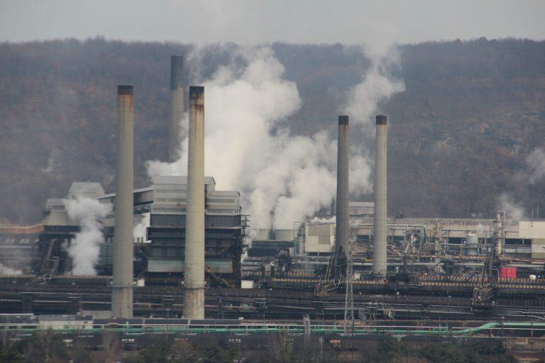 U.S. Steel's Clairton Coke Works (Reid R. Frazier/StateImpact Pennsylvania)