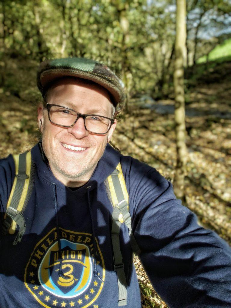 Jeff Bogle, the author, enjoying his day off. (Photo Courtesy/Jeff Bogle)
