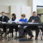 The Tamaqua School Board voted to temporarily suspend a policy that allows some school staff to carry firearms in classrooms anonymously. (Matt Smith for Keystone Crossroads)