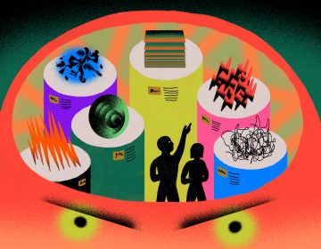 To tame your anger, it may help to take time to observe and name it. (Ariel Davis for NPR)