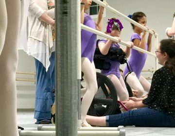The bALLet program is housed at the Pennsylvania Ballet Academy in Camp Hill and is open to children of all abilities. (Keira McGuire/WITF)